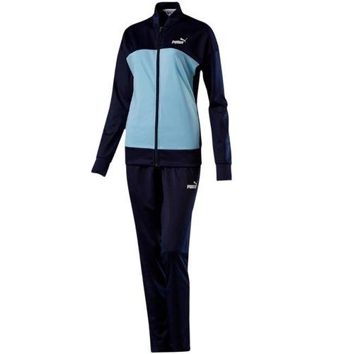 Pants Para Dama Dos Piezas Puma Classic Azul Y Negro dfc4b9e752fd