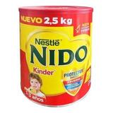 Leche Nido Kinder 2.50 Kgs 1-3 Años