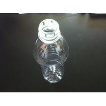 Botella Pet 300ml Con Tapa Sport Grado Alimenticio (180 Pzs)