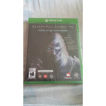 Shadow Of Mordor Game Of The Year Edition Fisico, Sellado
