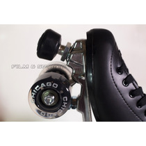 Patines Chicago 2 Ejes Roller Bota Freno Ajustable