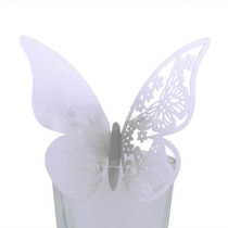 Mariposas De Papel Para Decoración Copas