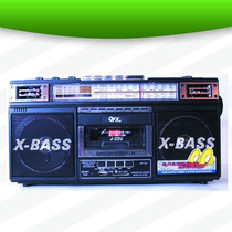 Grabadora Radio Respaldo A Cassette En Mp3 Fm Sw Sd Am