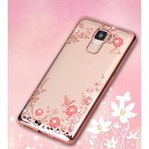 Funda Protector Tpu Flexible Con Flores Huawei G Elite L23