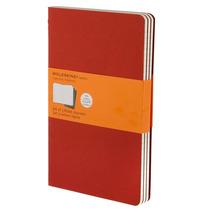 Libreta Grande Roja Rayas Moleskine Cuaderno