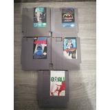 Lote 5 Juegos Nes Famicom