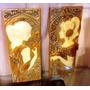 Set De 2 Placas Art Nouveau $1150