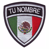 Mexico Escudo Personalizado Parches Bordados Banderas