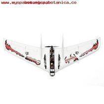 Avion Ala Rc Eachin Fury Wing 1030mm Fibra De Carb 180 Kh en