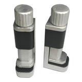 Sujetador De Aluminio P/pegar Pantallas Lcd &touch 2 Piezas