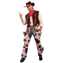 Vaquero Traje - Para Hombre Vestido De Lujo Del Chaleco Chap