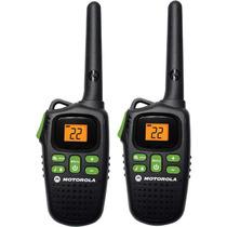 Motorola Md200r Paquete De 2 Radios Frs Dos Vias 20 Millas