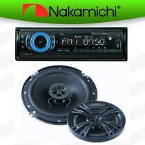 Autoestereo Bluetooth Na87 Mp3 Usb Sd Bocinas 6.5 Nakamichi