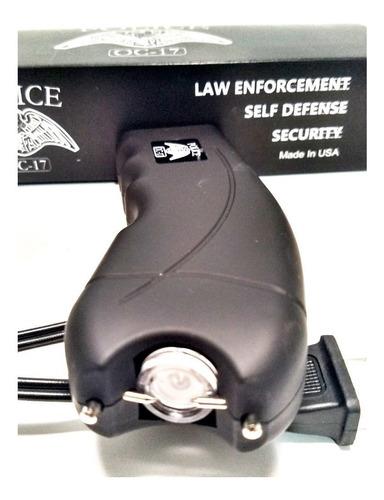 Taser Lampara Toques Stun Gun Paralizador Police 320000 Volt