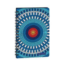 Libreta Cuderno Grande Suave Cuentas Huichol Mexico En Papel