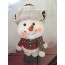 Navidad Figuras Decorativa Snowman Muñeco De Nieve Patines