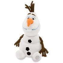 Peluche De Olaf De Frozen Disney Store100% Nuevo Y Original
