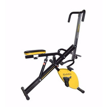 Ejercitador Body Magic Crunch Evo Pro Bici Fija 12 Niveles