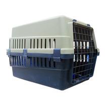 Jaula Transportadora Con Rejilla Sanitaria Para Linea Aerea