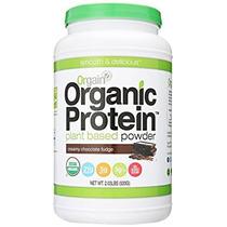 Proteína Orgain Orgánica Planta-basado En Polvo De Chocolate