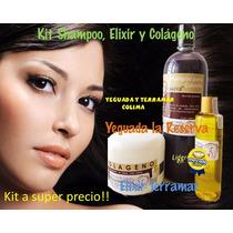 Kit Oleo, Shampoo Y Colageno Yeguada