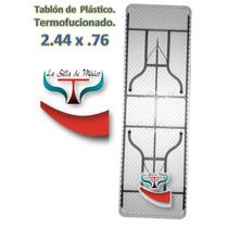 Mesa Tablon Plegable Para Fiesta Alquiler Plástico
