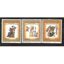 1980 Personajes Prehispánicos De México Arte Serie Mnh