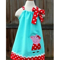 Batitas-vestidos Para Niña De Peppa Minnie Frozen Kitty