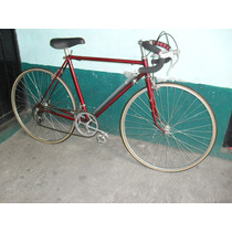 Bicicleta De Carreras Benotto, 9 Vel. Aluminio 10.5 Kg.
