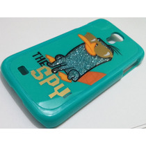 Protector Para Sam Galaxy S4 S4 19500 Phineas Y Ferb Perry