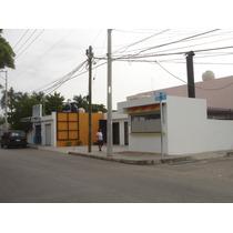 Esquina De Locales Comerciales En Colonia Nora Quintana, Merida Para Inversion
