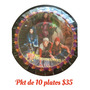 Pkt D 10 Platos Descendientes Descendantas Todo Arts Fiesta