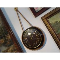 Reloj De Pared De Cuerda Aleman Kienzle Zodiacal