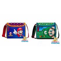Lonchera Chenson Mario Bros Original Nueva