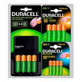 Cargador Duracell +8 Pilas Aa Recargables 2500mah +4 Aaa