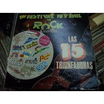 1er Festival Juvenil De Rock Lp. De 12 Pre Caifanes Bon