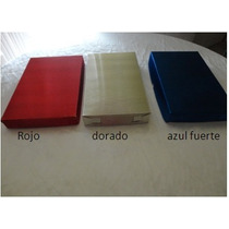 Caja De Carton Metalico Regalo,empaque ,20x34x5cm $15