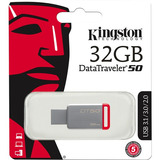 Kingston Memoria Usb 3.0 Flash Datatraveler 32 Gb Dt50/32gb