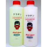 Alaciado Japonés Kit Keratina + Shampoo 500ml
