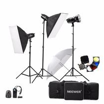 Estudio Fotografico Kit De Iluminacion Sofbox Neewer 750w