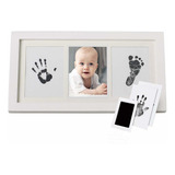 Marco De Fotos Para Manos Y Huellas De Bebé Diy Handprint