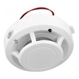 Sensor Detector De Humo Con Sonido Propio Y Para Alarma Gsm 433 Mhz