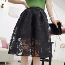 Faldas De Tul Flores Moda Japonesa Importada