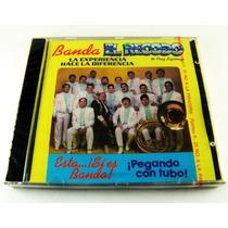 Banda El Recodo / Pegando Con Tubo Cd Nuevo Edicion 1993
