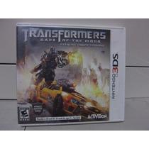 Videojuego Transformers Dark O The Moon 3ds Completo