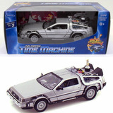 Volver Al Futuro Delorean Time Machine Part 2 Welly 1:24