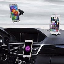 Car Holder Teléfono De Oro Colores Super 3 En 1 Universal De