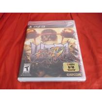 Ultra Street Fighter 4 Ps3 Fisico Nuevo