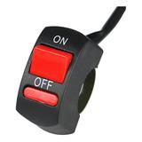 Switch Apagador Corta Corriente Moto Luces Faros Interruptor
