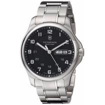 Reloj Victorinox Officers Analogo Acero Inoxidable 241590